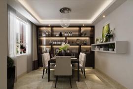 成都新房装修:餐厅酒柜设计注意事项有哪些?