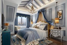 成都房屋装修:卧室窗帘选购与搭配技巧