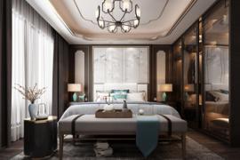 成都别墅装修:卧室灯具选择与搭配攻略