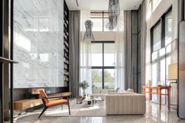 成都别墅装修:瓷砖铺贴注意事项及验收标准