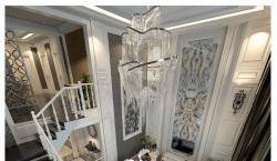 成都维也纳森林别墅430平简欧风装修效果图