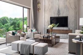 成都别墅装修:电视背景墙装修如何选材!